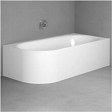 Bette Lux Oval V Silhouette Eck-Badewanne