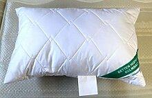 Betten Hofmann Baumwolle Faserkissen Kopfkissen Kleinkissen 40x60 cm Kissen m. Reißverschluß