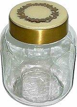 Better & Best 1228307-Glas-Flasche, mit