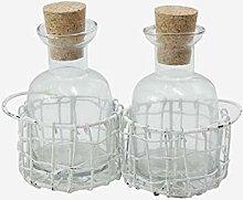 Better & Best 1363352 Dekoset, Glas und Metall,