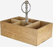 Better & Best 2312518 Besteckkasten aus Holz und