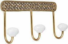 Better & Best Goldener Kleiderbügel mit 3 Gitter,