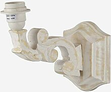 Better & Best Rctg DEC Wandlampe aus Holz, mit Arm