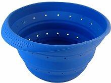 Better Houseware Faltbares Abtropfsieb, Royal Blau