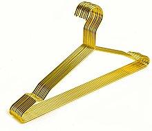 Better to U Goldene Kleiderbügel aus Metall für