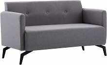 Betterlife - 2-Sitzer-Sofa Stoffbezug 115 x 60 x