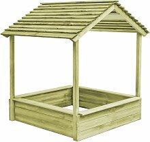Betterlife - Garten-Spielhaus mit Sandkasten