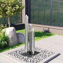 Betterlife - Gartenbrunnen Silbern 48x34x88 cm