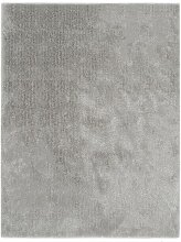 Betterlife - Hochflor-Teppich 80×150 cm Grau