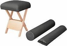Betterlife - Massage-Klapphocker 12 cm Dicker Sitz