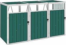 Betterlife - Mülltonnenbox für 3 Mülltonnen