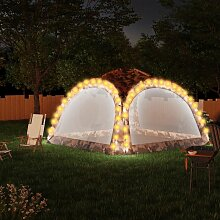 Betterlife - Partyzelt mit LED und 4 Seitenwänden