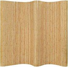 Betterlife - Raumteiler Bambus 250x165 cm Natur