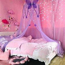 Betthimmel für Mädchenzimmer, rund, Kuppel,