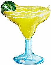 Bettiburi 15437P Folienballon Margarita-Glas, 91,4