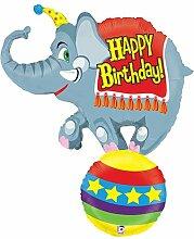 Bettiburi 85821P Folienballon Zirkuselefant