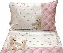 Bettlaken Bett Baby mit Seiten des früheren