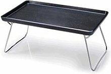 Betttablett 53x32 cm schwarz