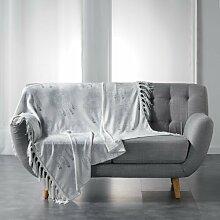 Bettüberwurf Belpre BohoLiving Farbe: Weiß