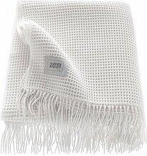 Bettüberwurf Riffle Schöner Wohnen Farbe: Weiss