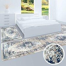 Bettumrandung Flachflor-Teppich Klassisch