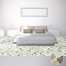Bettumrandung Teppich Modern Läufer Inspiration Pastelfarbend Beige 2x 80x150cm & 1x 80x300cm
