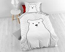Bettwäsche Baumwolle Sleeptime Kinder Bär ,