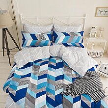 Bettwäsche Bettbezug Set, 3 Teilig Bettgarnitur