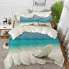 Bettwäsche - Bettbezug-Set, Dekor am Meer,