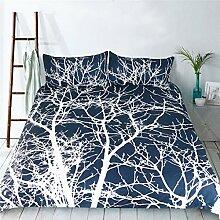 Bettwäsche Bettdecke Abdeckung Kissenbezug