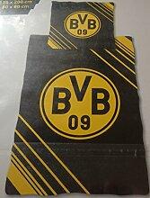 Bettwäsche BVB Borussia Dortmund Bezug 135x200cm