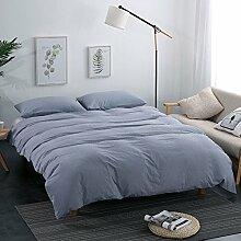 Bettwäsche cover bettwäsche einfache nordic style bettwäsche set 100% Cotton -I King