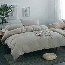 Bettwäsche cover bettwäsche einfache nordic style bettwäsche set 100% Cotton -H King