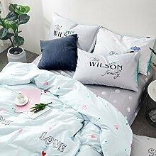 Bettwäsche deckel set bettwäsche 4 Legt 100% Cotton christmas dekoration-L Twinch2
