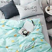 Bettwäsche deckel set bettwäsche 4 Legt 100% Cotton christmas dekoration-E Twinch2