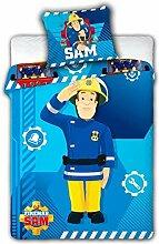 Bettwäsche Feuerwehrmann Sam, Bettbezug 100 x 135