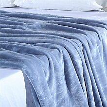 Bettwäsche Legere Coral Kaschmir-Decke Und 150 * 200 Cm, Blau