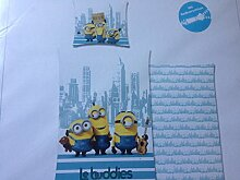 "Bettwäsche Minions ""Le Buddies"" New York"