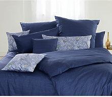 Bettwäsche: Motiv Allover-Print blau - Elegant
