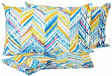 Bettwäsche Paint bunt–MADE IN ITALY–100% dicht gewebte Baumwolle–2Liegeplätze Bett Doppelbe