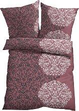 Bettwäsche Sandra, rosa (2x 80/80cm, 2x 135/200cm)
