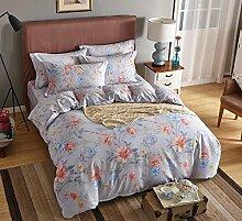 Bettwäsche Schleifen vier Sätze von Bettwäsche, Baumwolle europäischen und amerikanischen Stil Bett-Sets