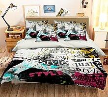 Bettwäsche Graffiti Günstig Online Kaufen Lionshome