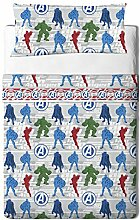 Bettwäsche-Set 90 cm. KISSEN Marvel Avengers 3