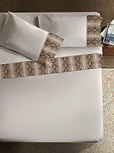 Bettwäsche Set  Armonie Pitonato Farbe beige 260x290cm