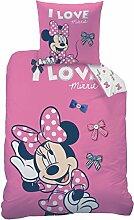 Bettwäsche Set Disney Minnie Mouse 135x200cm +