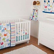 Bettwäsche-Set für Kinderbett (Steppdecke,