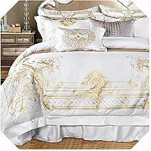 Bettwäsche-Set in Übergröße, luxuriös,