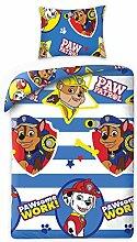 Bettwäsche Set Kinder Paw Patrol 140x200+1x70x90