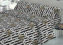 Bettwäsche-Set mit Kopfkissenbezug, Spannbett-